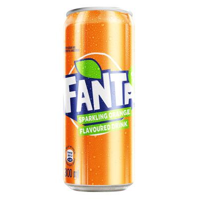 FANTA ORANGE CAN 300ML